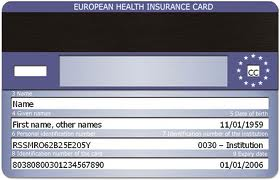 EHIC - De European Health Insurance Card