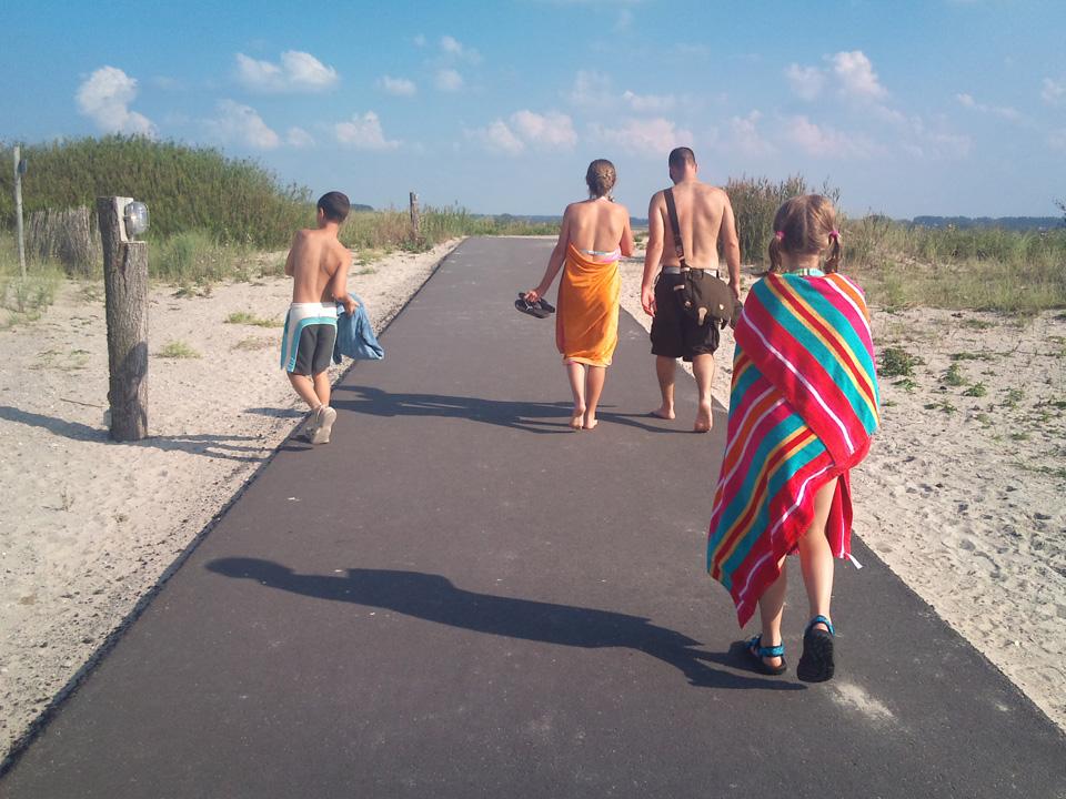 Dagje strand nabij Groede (03-09-2011)