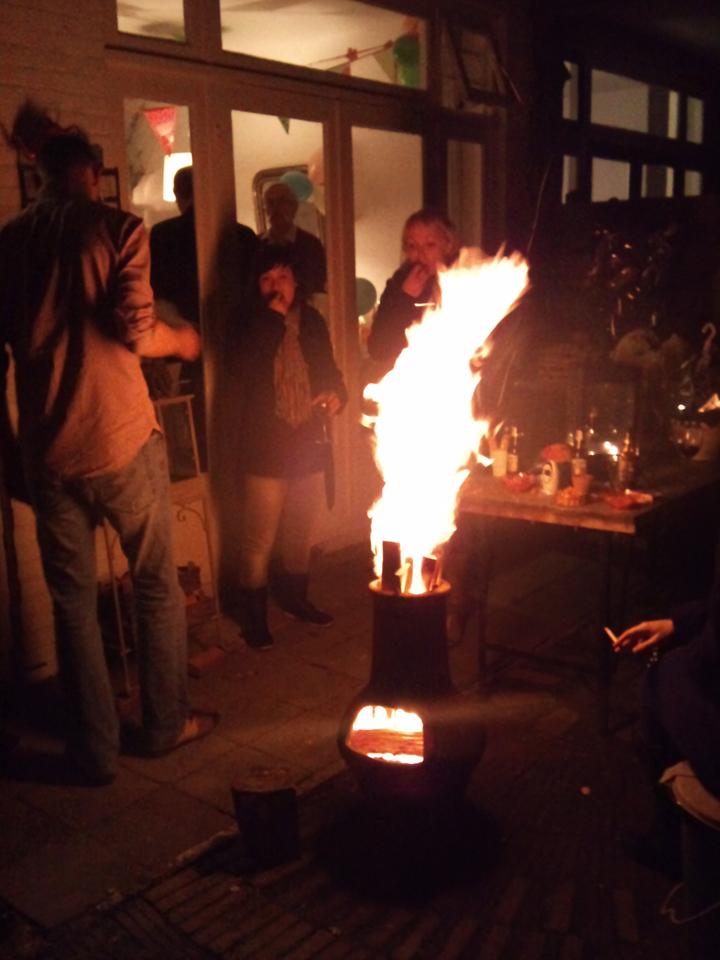 Even een 60 jarig feestje pimpen :D @ 2012-05-05 23:00u