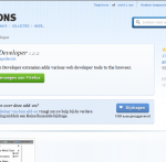 my Firefox Add-ons 13wk09