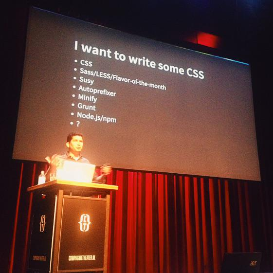 "CSS Day 2015 Stephen Hay: ""I want to write some css"" 